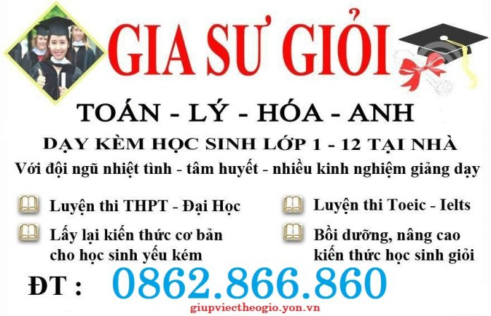 cong ty cung ung gia su day kem tai nha tphcm